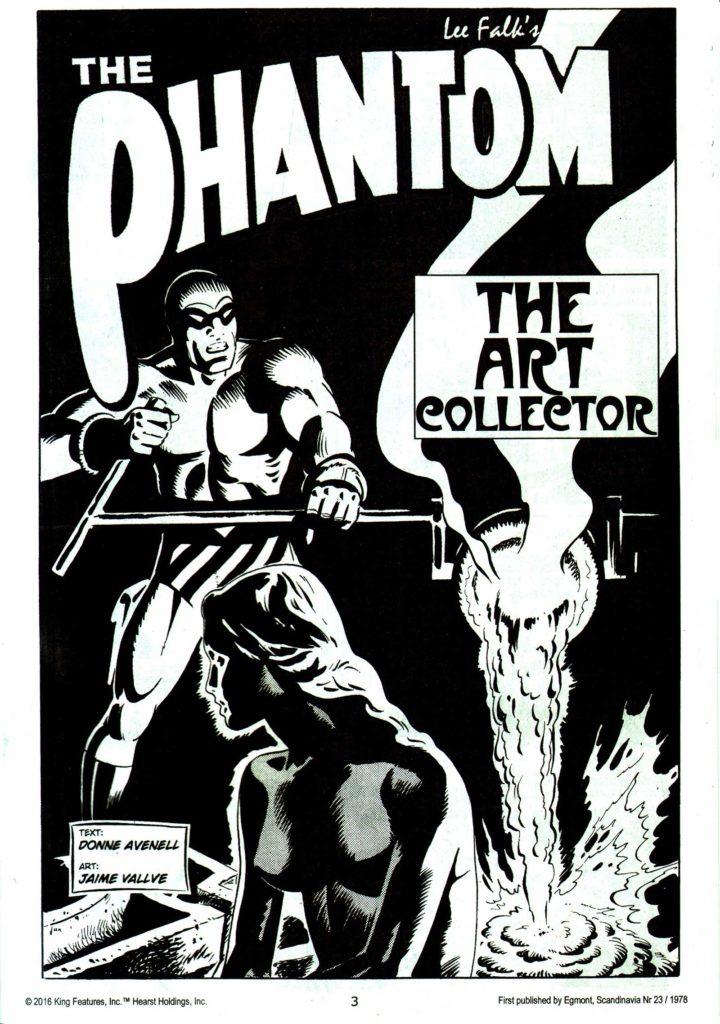 The Phantom 1766 Title Page