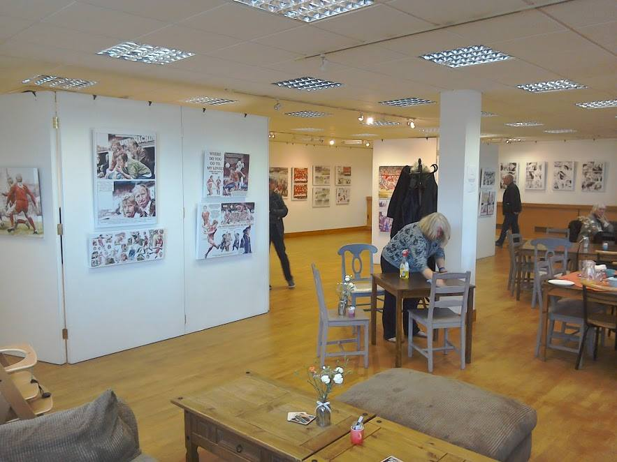 Richard Piers Rayner Exhibition 2016 - General View