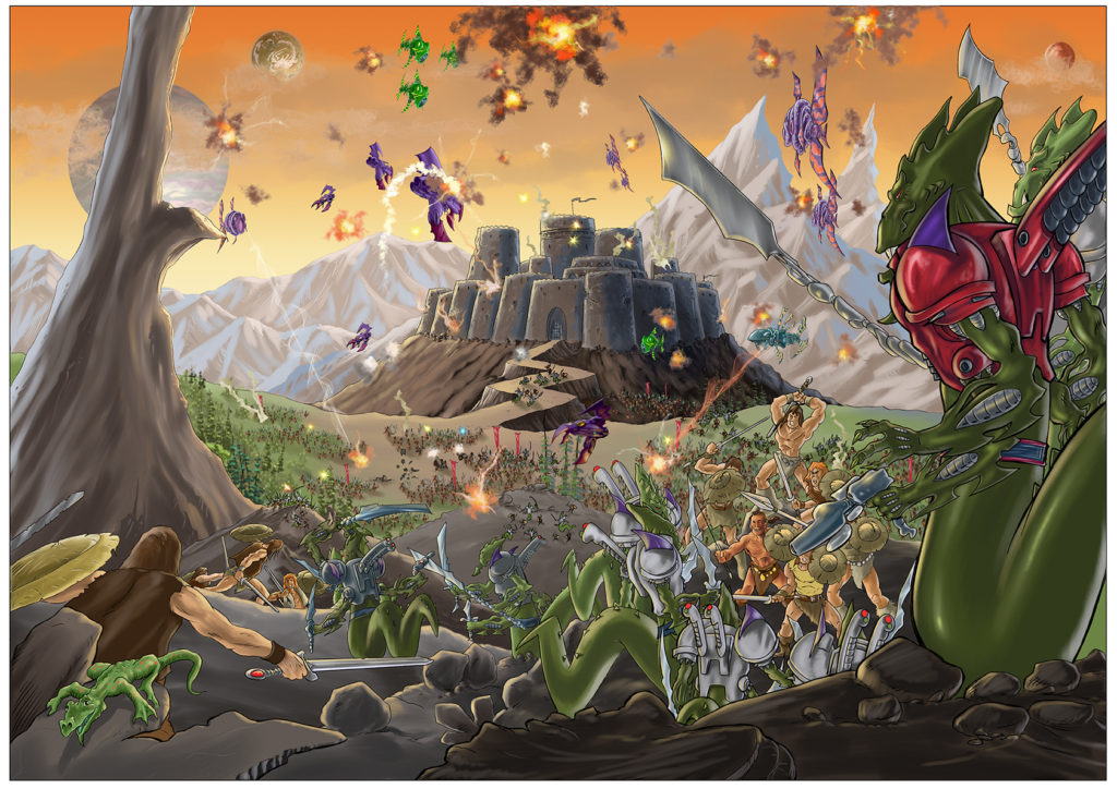 Worlds End Volume 2 art by Tim Perkins