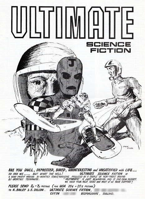 Steve's Ultimate Science Fiction, published in 1977 (with thanks to Lew Stringer)