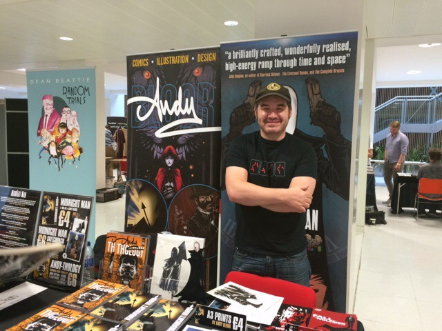 Nottingham Comic Convention 2016 - Andy Bloor