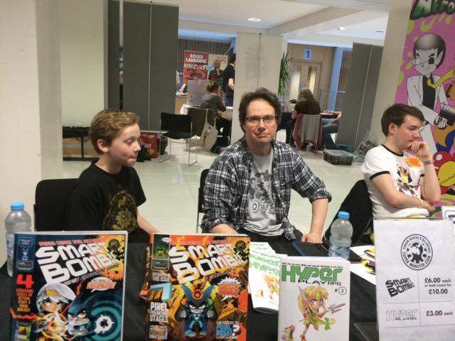 Nottingham Comic Convention 2016 - Wil Overton