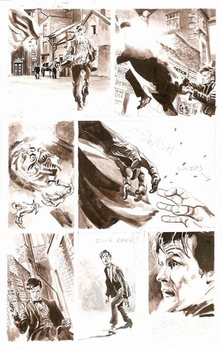 Richard Piers Rayner Doctor Who Art (IDW)