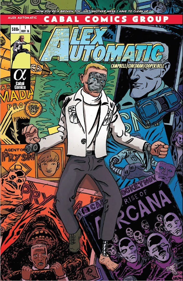 Alex Automatic - Cover
