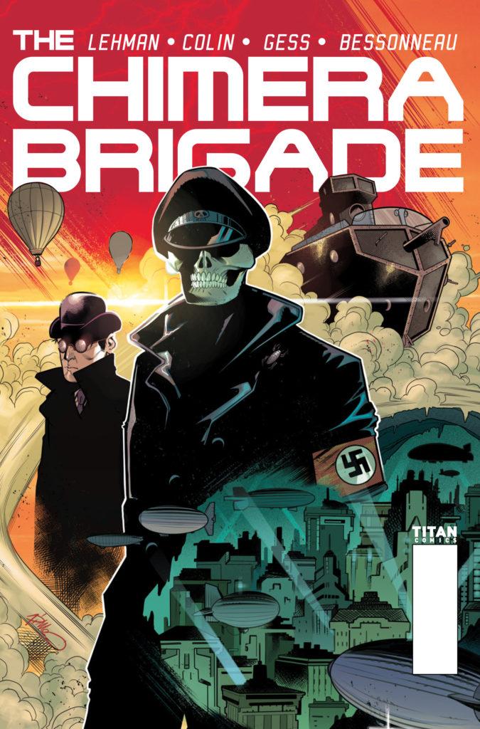 The Chimera Brigade #2 - Cover A