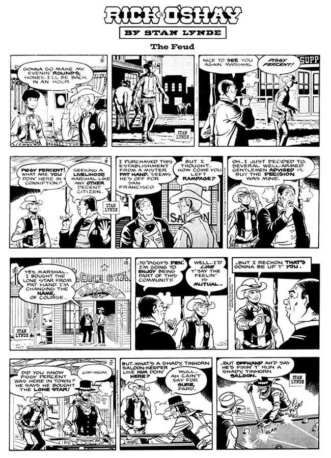 Comics Revue Issue 365-366 - Rick O'Shay