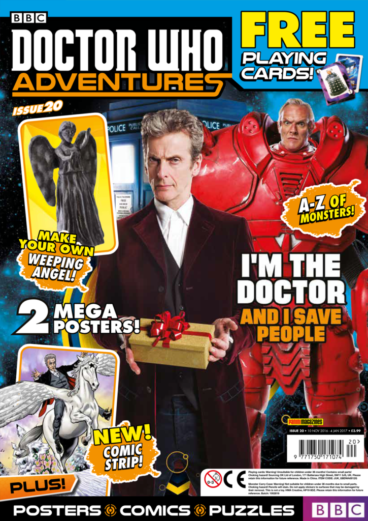 Doctor Who Adventures Issue 20 - Cover