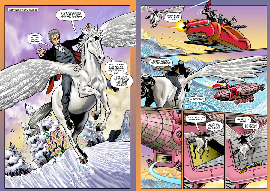 Doctor Who Adventures Issue 20 - Strip Sample