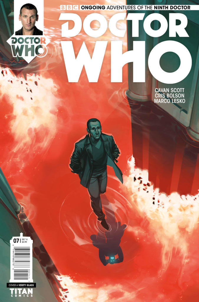 Doctor Who: The Ninth Doctor #7 Cover A by Verity Glass