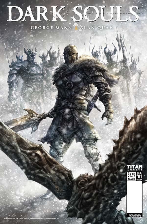 Dark Souls: Winter's Spite #1 - Cover A-quah