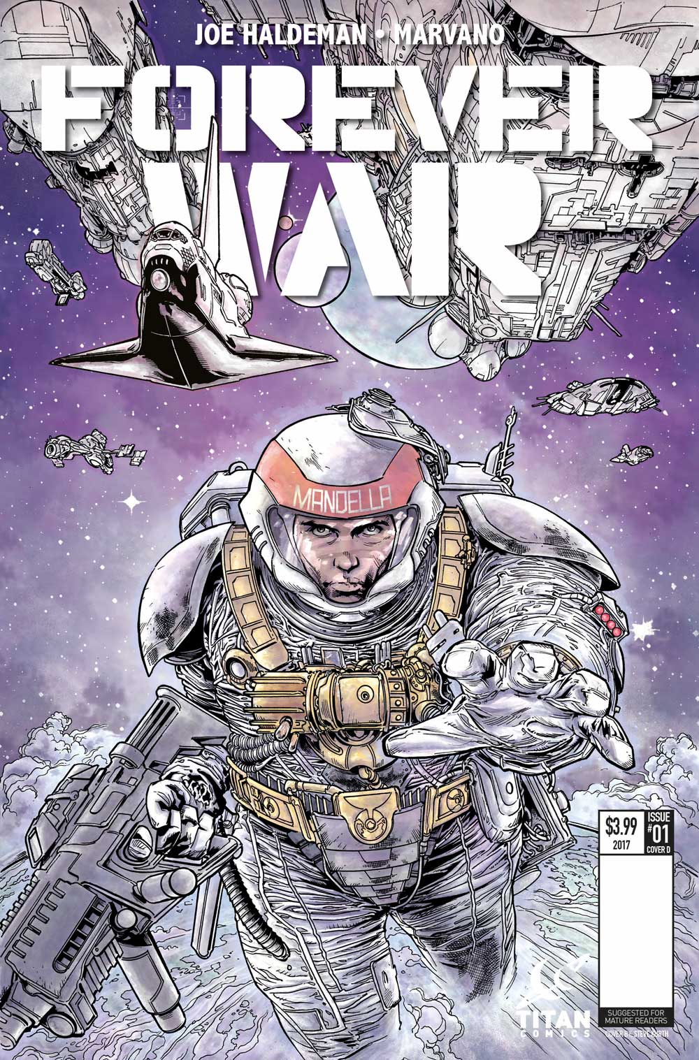 The Forever War #1 Cover B - Steve Kurth