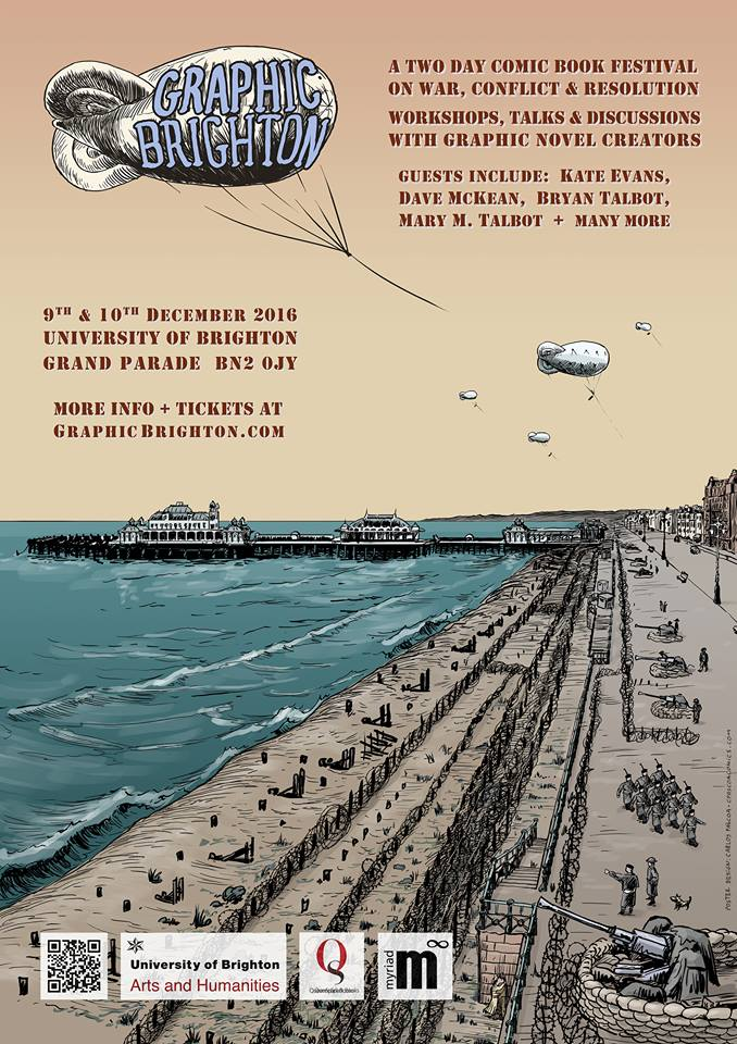 Graphic Brighton 2016 Poster