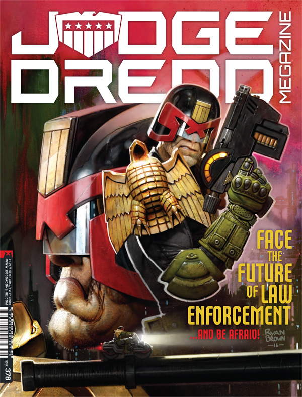 Judge Dredd Megazine 378