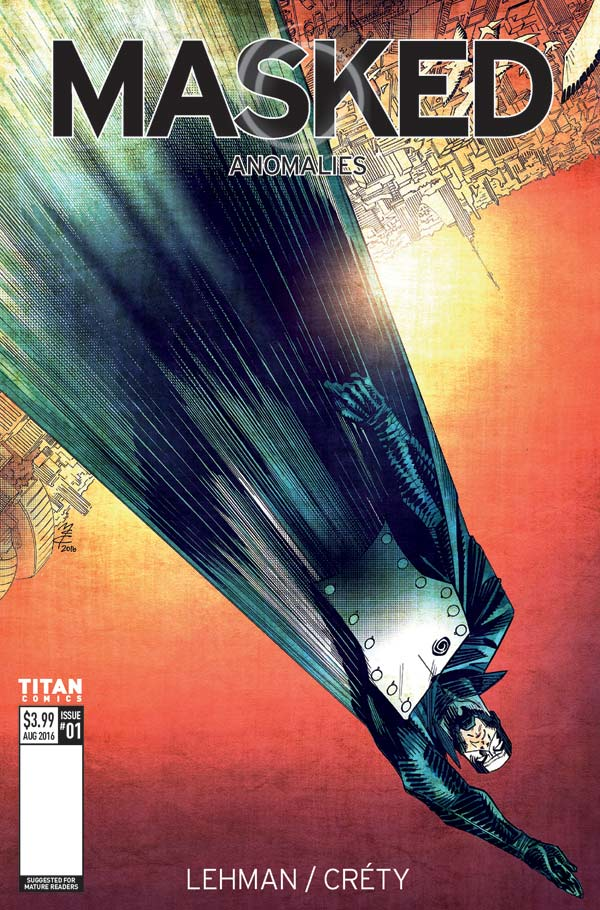 Masked #1 Cover A by John McCrea