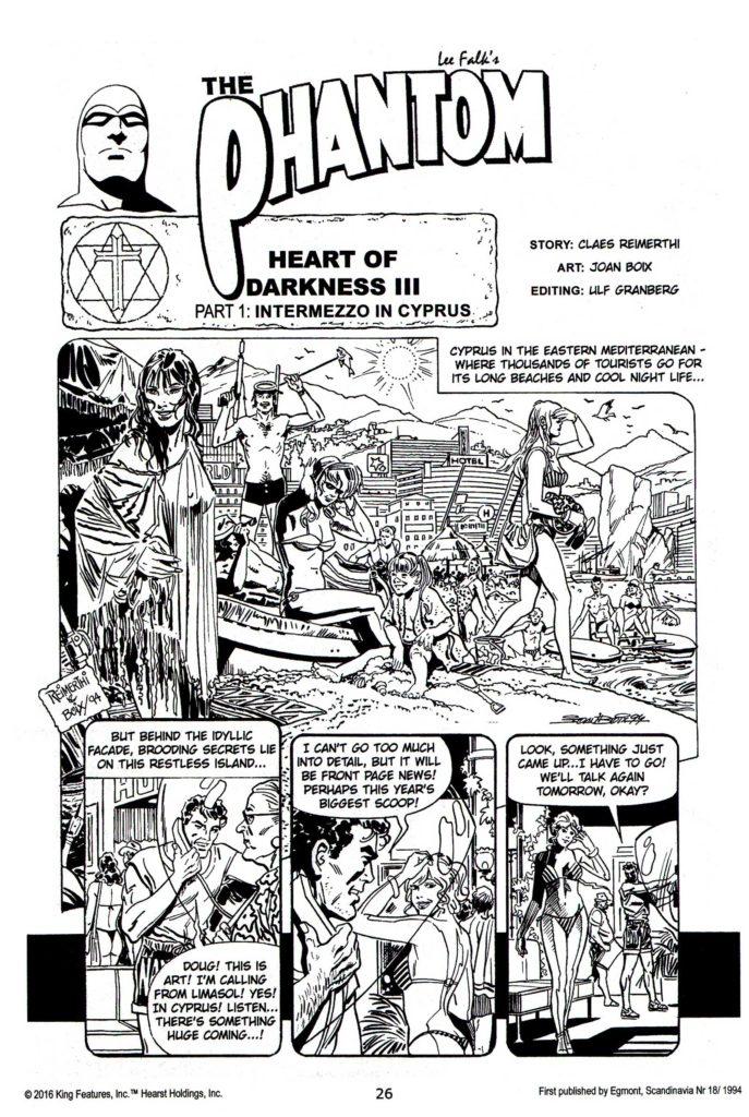 The Phantom 1767 - Title Page