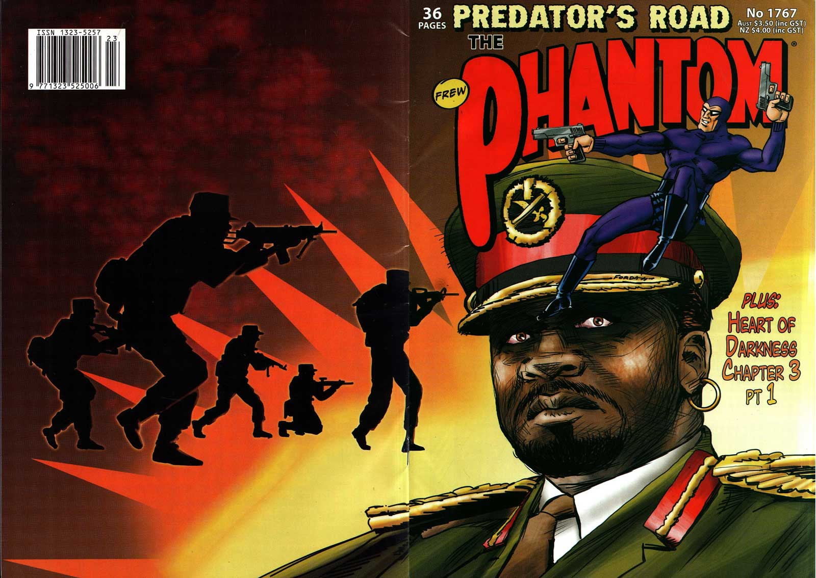 The Phantom 1767 - Predator's Road (Frew Comics)