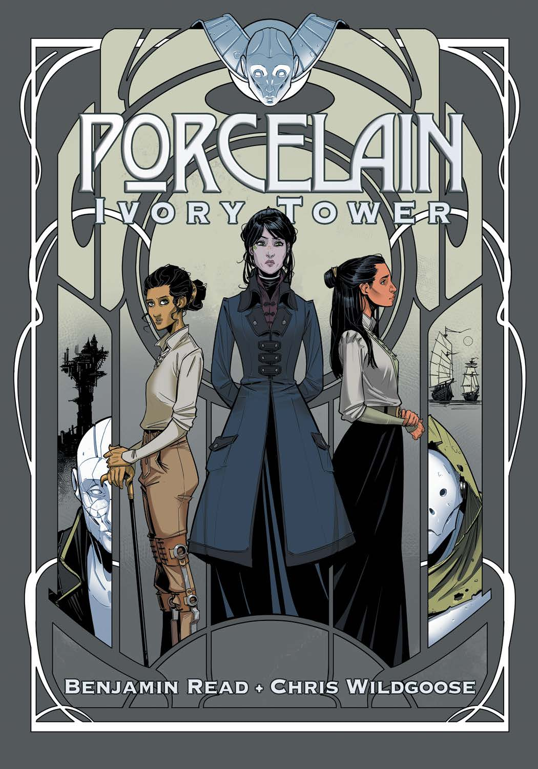 Porcelain: Ivory Tower - Cover