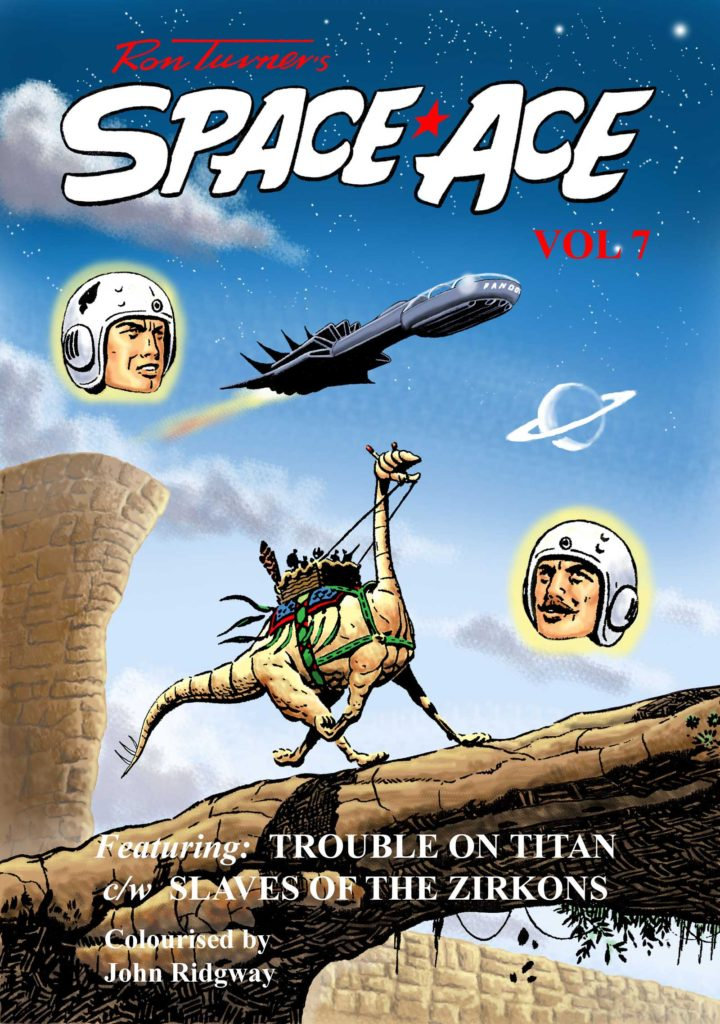 Ron Turner's Space Ace Issue 7 - Cover