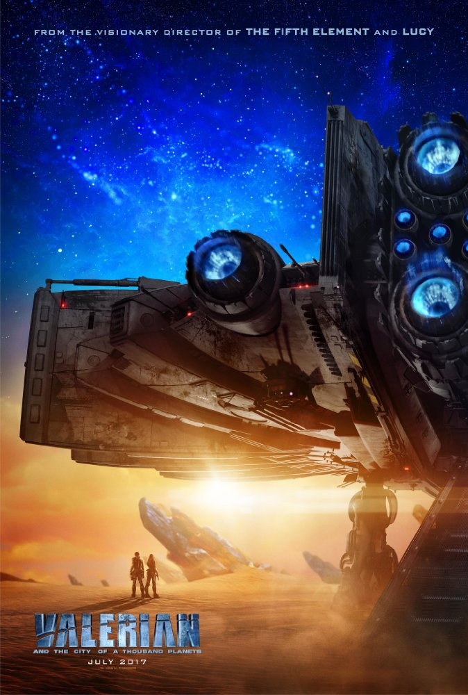 Valerian And The City Of A Thousand Planets - Poster