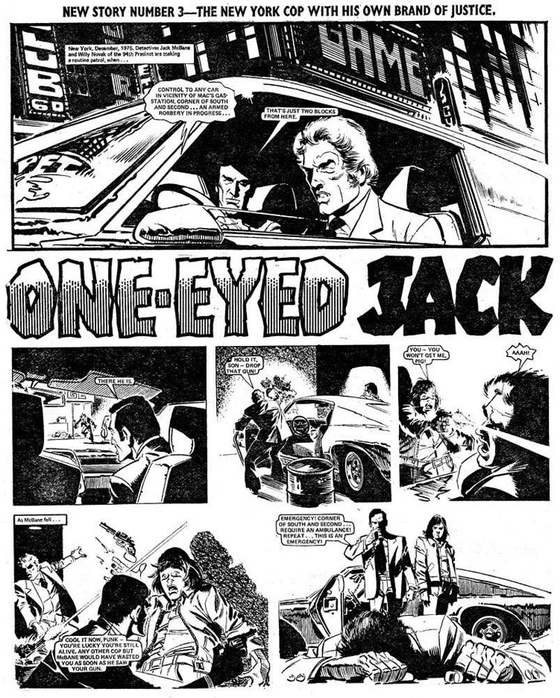 One-Eyed Jack - Valiant (20th December 1975) - Page 1