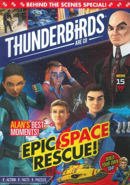 Thunderbirds Are Go Magazine Issue 15