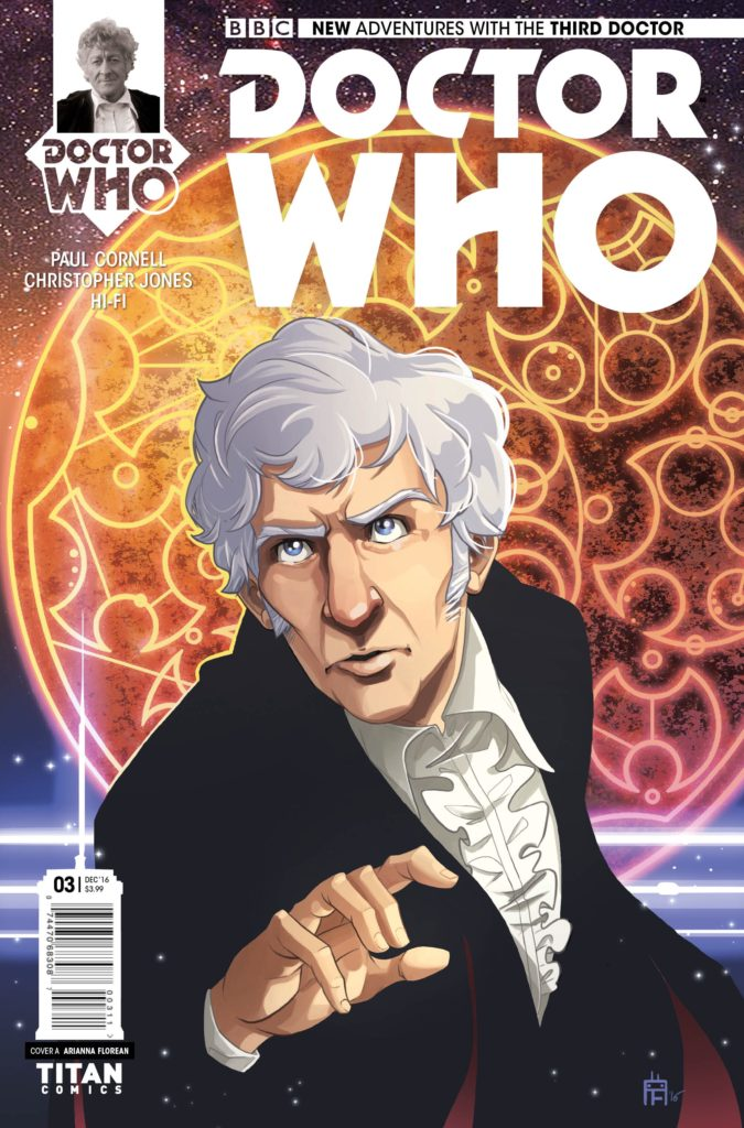 Doctor Who: The Third Doctor - Heralds of Destruction #3 Cover A