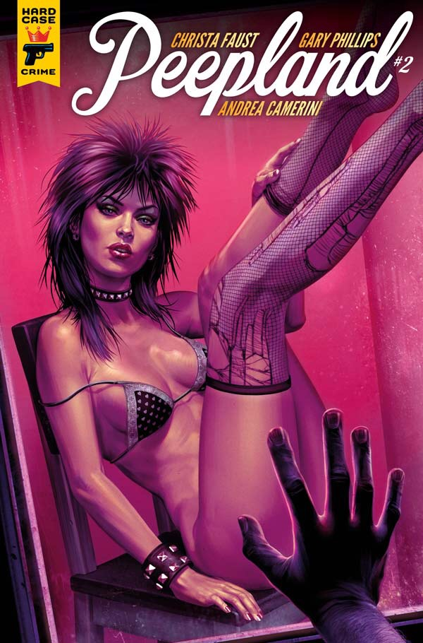 Peepland #2 Cover A by Chris Wahl