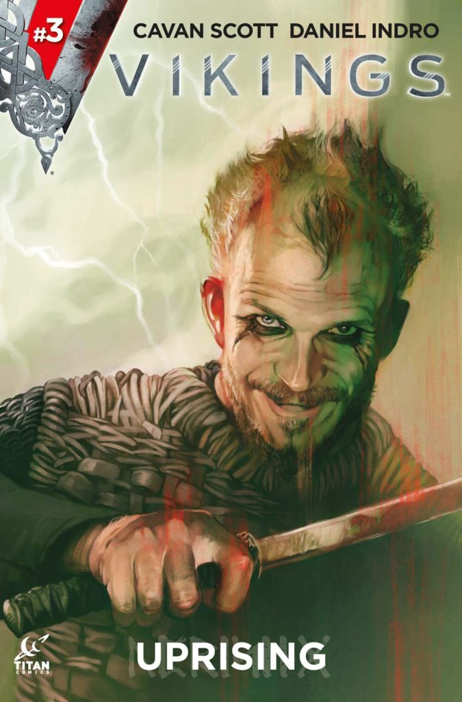 Vikings Uprising #3 Cover A by Claudia Caranfa