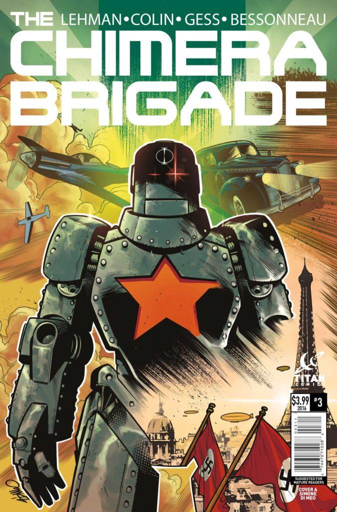 Chimera Brigade #3 Cover A: Simone di Meo
