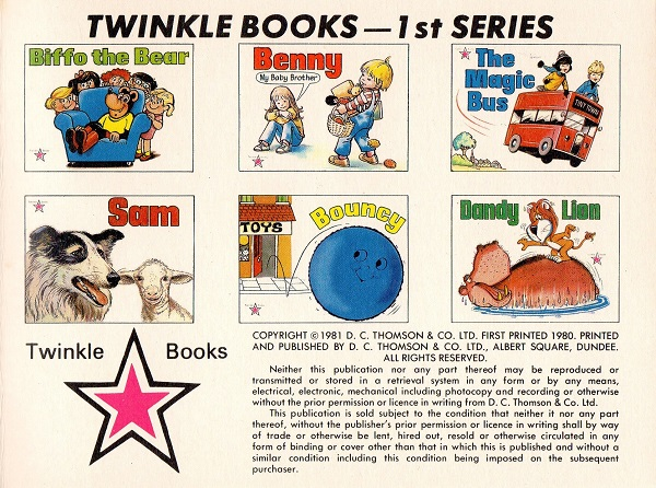 DCT Twinkle Series 2 Copyright S