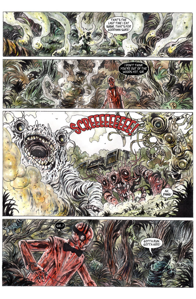 100% Biodegradable Issue 15 The Exterminator