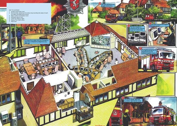 Kent Fire Brigade Headquarters by Graham Bleathman