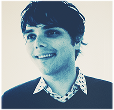 Musician and comic writer Gerard Way