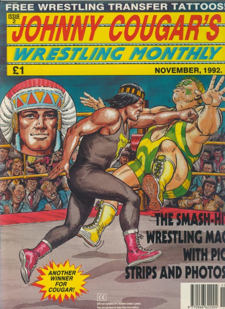 Johnny Cougar Wrestling Monthly Issue Two