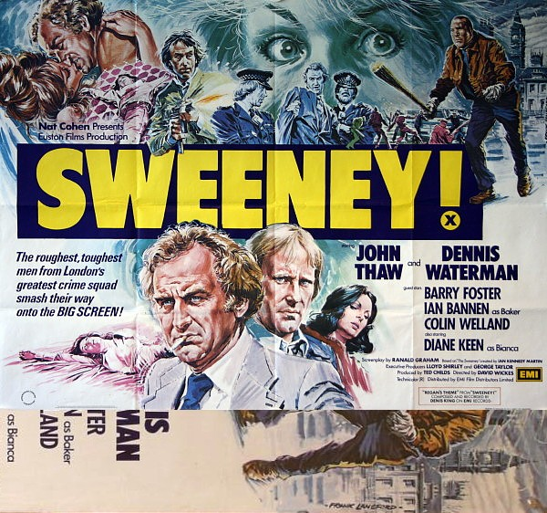 Sweeney! Film Poster by Frank Langford