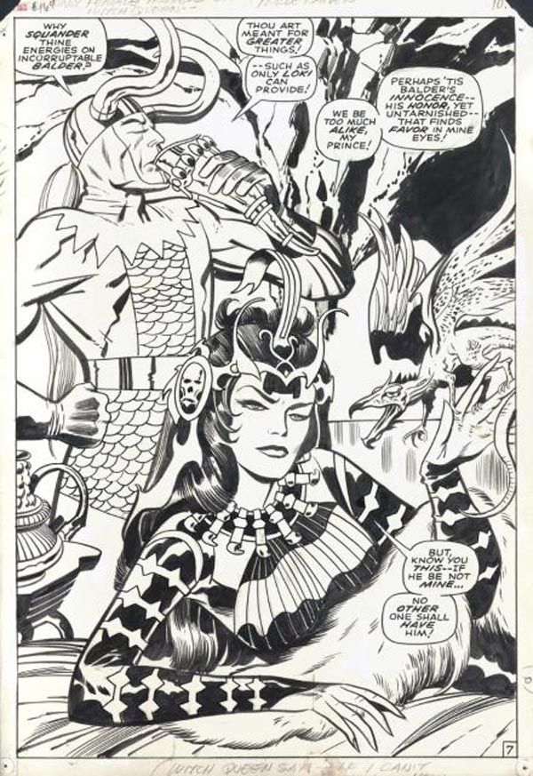 The Mighty Thor - Pencils: Jack Kirby - Inks: Vince Colletta