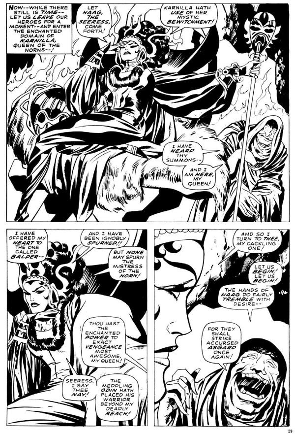 The Mighty Thor Issue #165 - Page4 - Pencils: Jack Kirby - Inks: Vince Colletta