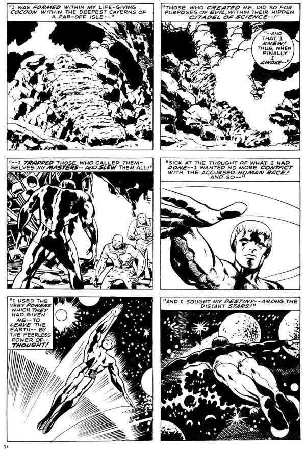The Mighty Thor Issue #165 Page 9 - Pencils: Jack Kirby - Inks: Vince Colletta