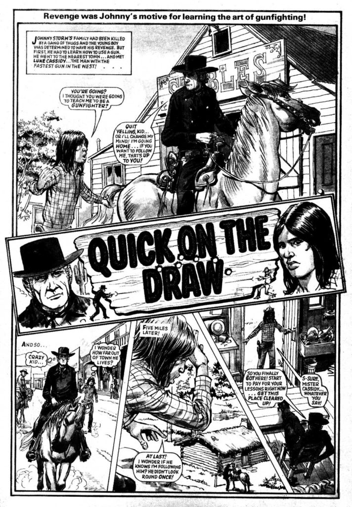 Speed Issue 2 - 19th February 1980 - Quick on the Draw