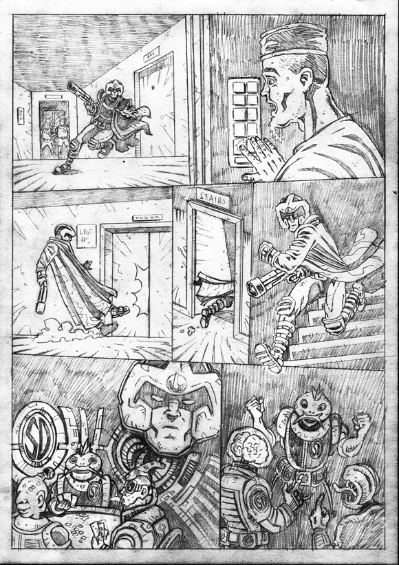 "Strontium Dog ""No Choice At All""  - Pencils 3"