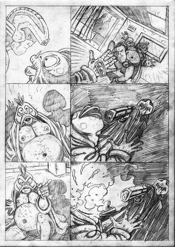 "Strontium Dog ""No Choice At All""  - Pencils 7"