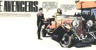 The Avengers - from Diana comic. Art by Frejo Emiliowith assistance by Juan Gonzalez Alacreu