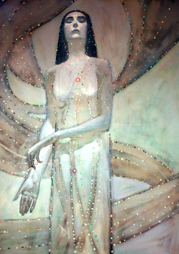 """Lorraingel"", just one piece of John's stunning art"