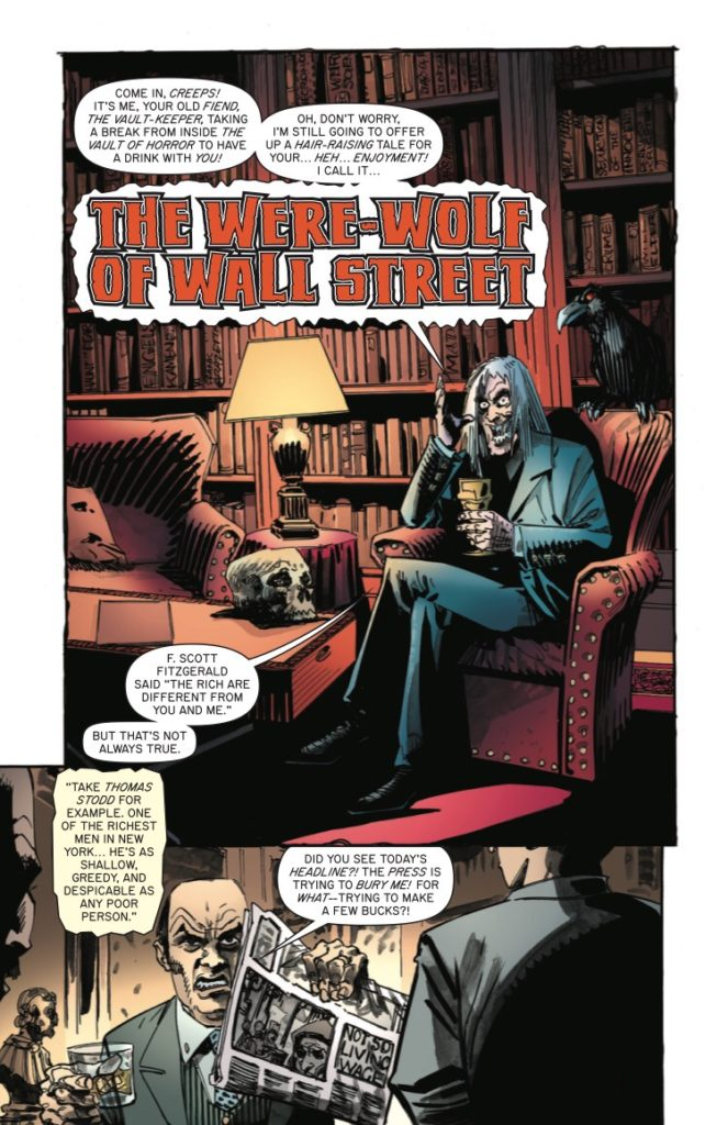 Tales from the Crypt #1 - The Werewolf of Wall Street