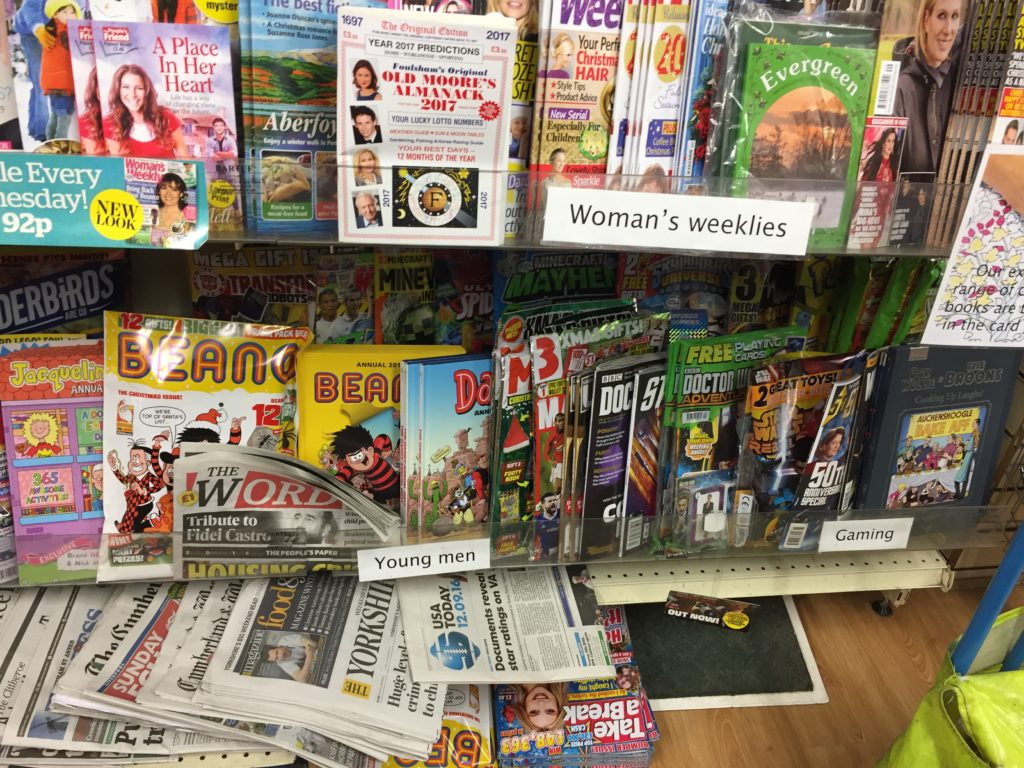 This small retailer not only has a wide range of comics for all age groups, but has also made space for a good selection of the latest annuals from DC Thomson
