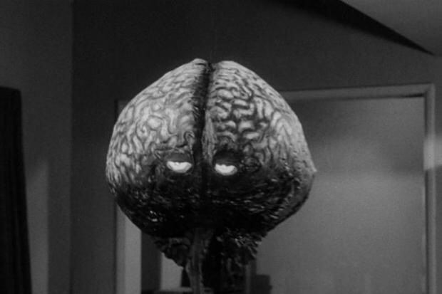 Gor, the evil brain from The Brain from the Planet Arous
