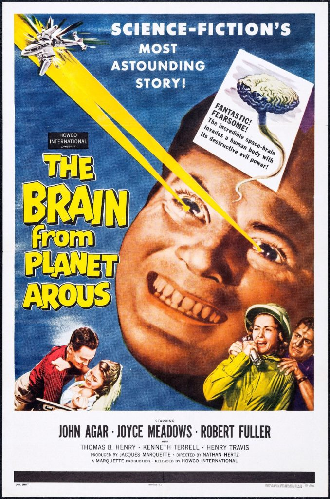 The Brain from the Planet Arous - Film Poster