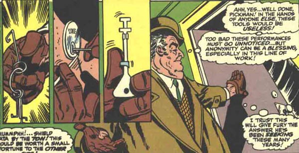 Pickman in Nick Fury, Agent of S.H.I.E.L.D. #5