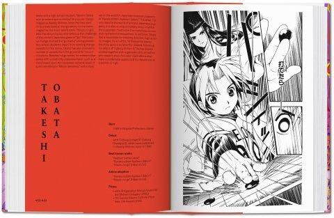 100 Manga Artists - Sample Spread 3