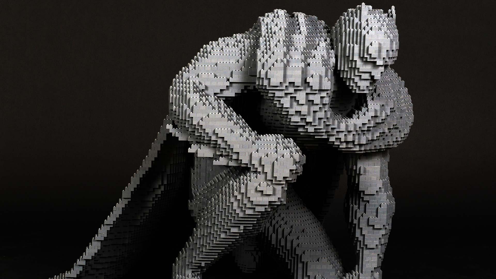 The Art of Brick: DC Super Heroes - Batman